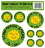 Sticker set - Renewable Energie Danish, 8 pieces