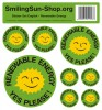 Sticker set - Renewable Energie English, 8 pieces