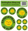Sticker set - Renewable Energie German C, 8 pieces