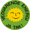 Renewable Energy Stickers Danish 10 cm