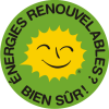 Renewable Energy Stickers French 5 cm