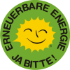 Renewable Energy Stickers German A 5 cm
