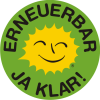 Renewable Energy Stickers German C 5 cm