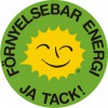 Renewable Energy Stickers Swedish 5 cm
