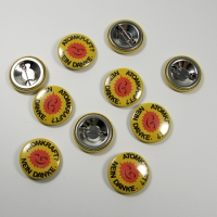 Badges 25 mm - 10 pieces