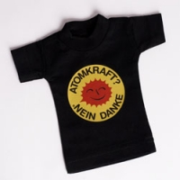 Mini T-Shirt in schwarz