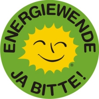 Renewable Energy Stickers German B 5 cm