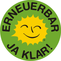 Renewable Energy Stickers German C 10 cm